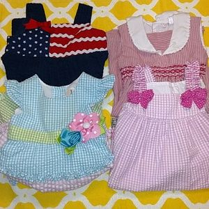 Other - Lot of 4 girl dresses size 2 years